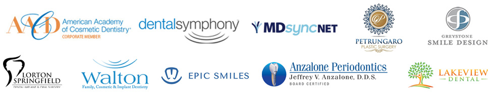 digital-marketing-clients-american-academy-cosmetic-dentistry-corporate-member-mdsyncnet-epic-smiles-anzalone-periodontics-walton-dental-lakeview-greystone-smile-design-lorton-dental-implant-oral-surgery-petrungaro-plastic-surgery-dental-symphony