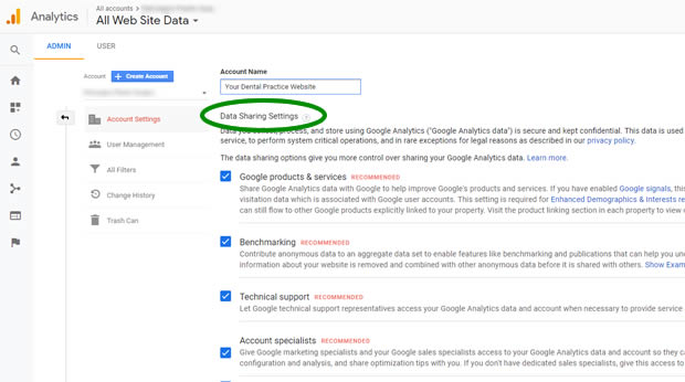example-analytics-data-sharing-google