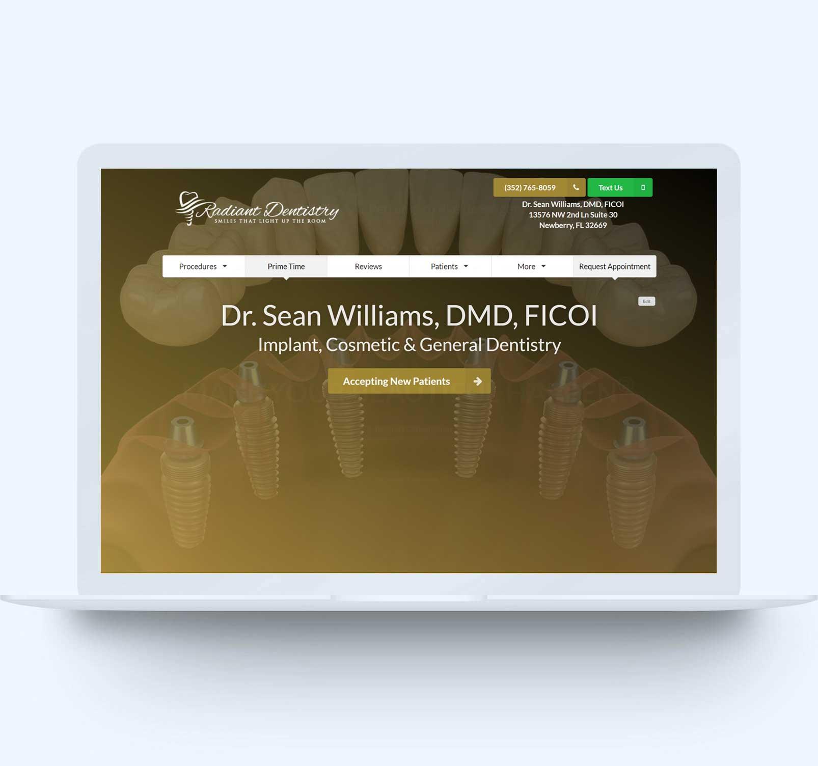dental-marketing-startup-website-design